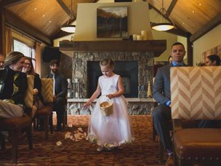 Chris and Lambie's wedding in Canmore, Alberta 24