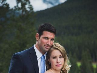 Chris and Lambie's wedding in Canmore, Alberta 60
