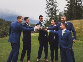 Chris and Lambie's wedding in Canmore, Alberta 67