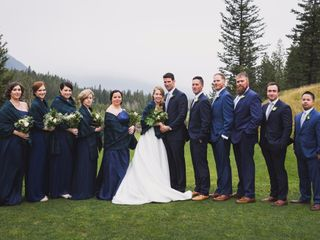 Chris and Lambie's wedding in Canmore, Alberta 76