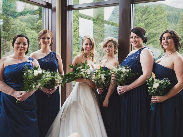 Chris and Lambie's wedding in Canmore, Alberta 5