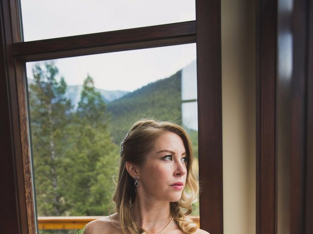 Chris and Lambie's wedding in Canmore, Alberta 6