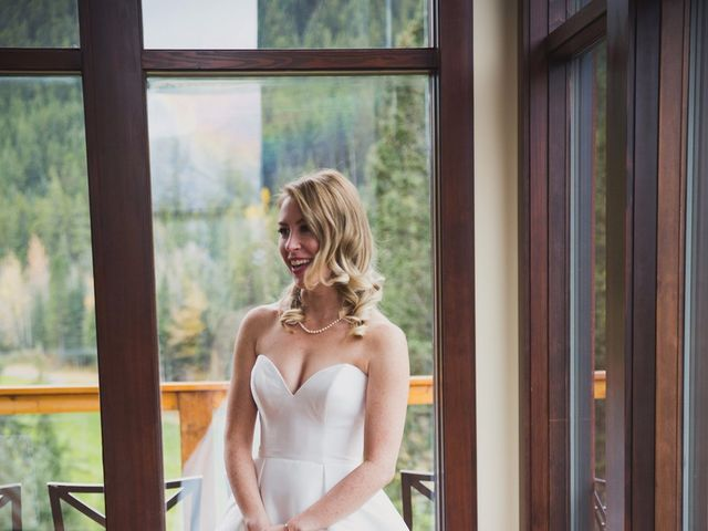 Chris and Lambie's wedding in Canmore, Alberta 10