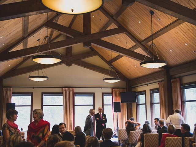 Chris and Lambie's wedding in Canmore, Alberta 11