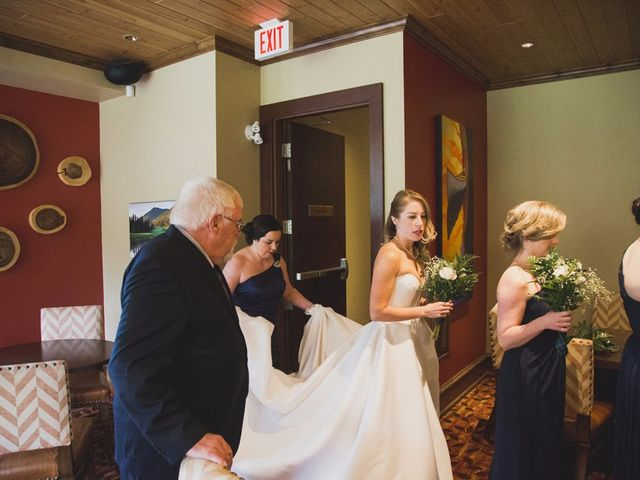 Chris and Lambie's wedding in Canmore, Alberta 22