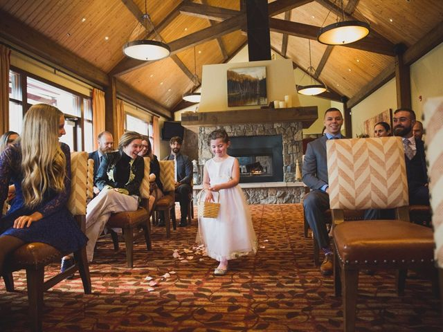 Chris and Lambie's wedding in Canmore, Alberta 25