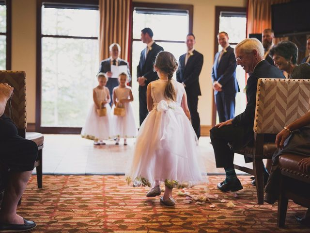Chris and Lambie's wedding in Canmore, Alberta 26