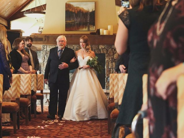 Chris and Lambie's wedding in Canmore, Alberta 29