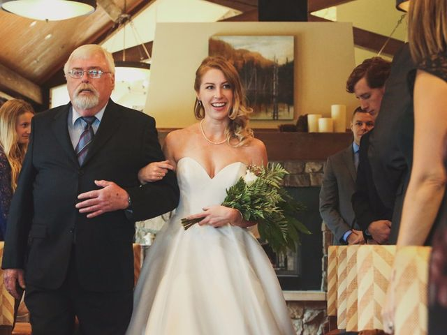 Chris and Lambie's wedding in Canmore, Alberta 30
