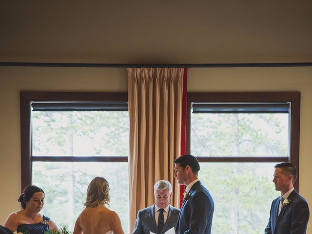 Chris and Lambie's wedding in Canmore, Alberta 33