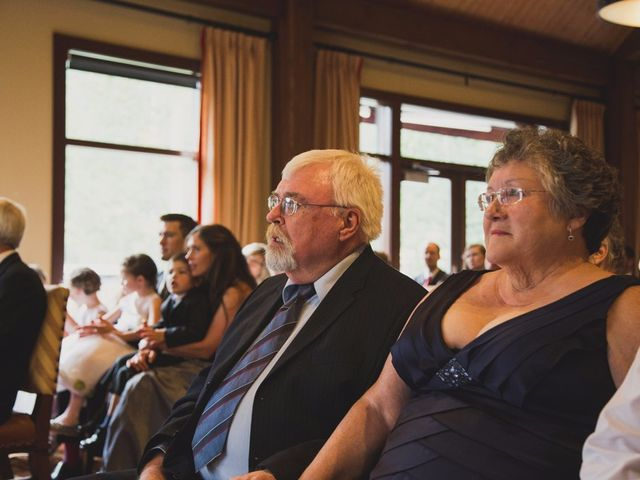 Chris and Lambie's wedding in Canmore, Alberta 40