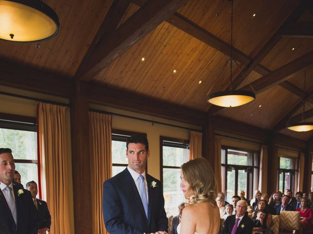Chris and Lambie's wedding in Canmore, Alberta 44