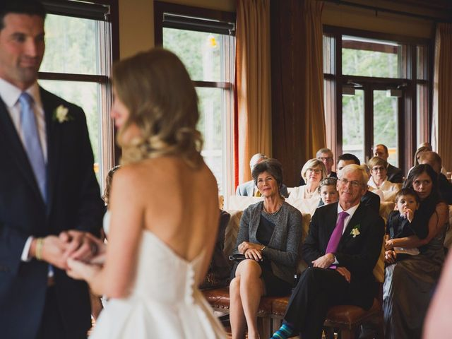 Chris and Lambie's wedding in Canmore, Alberta 45