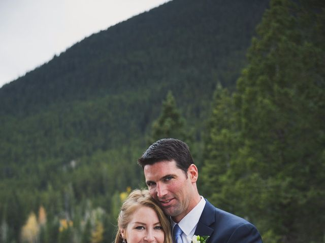 Chris and Lambie's wedding in Canmore, Alberta 56