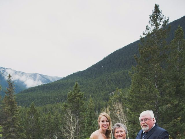 Chris and Lambie's wedding in Canmore, Alberta 63