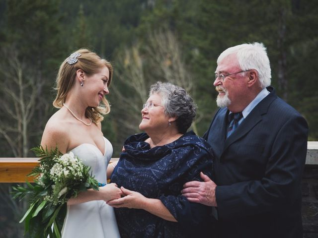Chris and Lambie's wedding in Canmore, Alberta 64