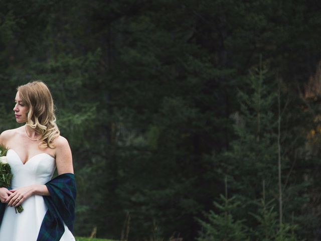 Chris and Lambie's wedding in Canmore, Alberta 70