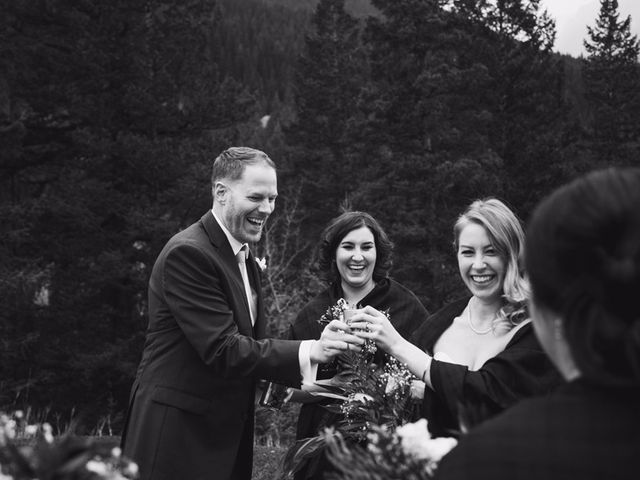 Chris and Lambie's wedding in Canmore, Alberta 72