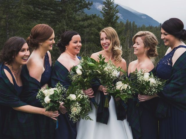 Chris and Lambie's wedding in Canmore, Alberta 74