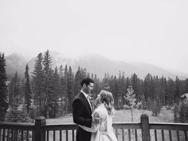 Chris and Lambie's wedding in Canmore, Alberta 77
