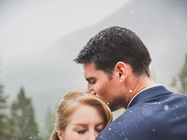 Chris and Lambie's wedding in Canmore, Alberta 2