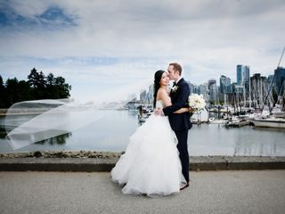 The wedding of Michelle and Chris