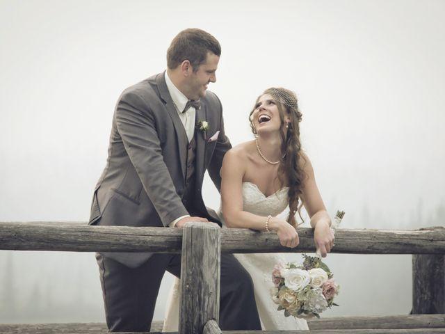 The wedding of Jacinna and Chris