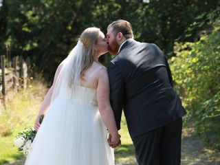 The wedding of Jordan and William