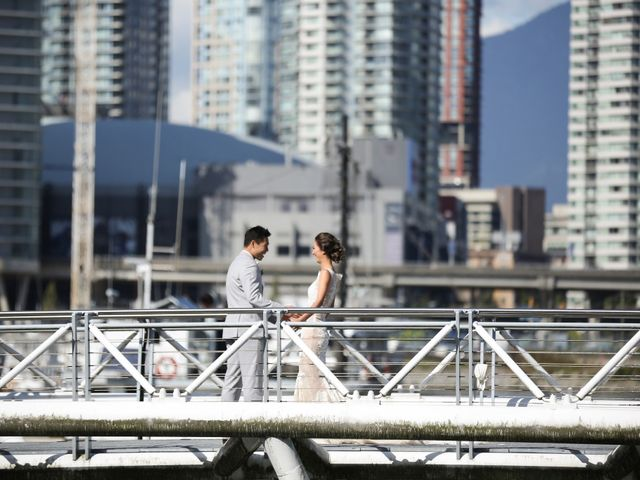 Brent and Queenie's wedding in Vancouver, British Columbia 41