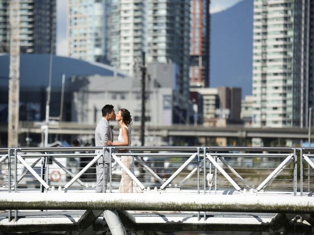 Brent and Queenie's wedding in Vancouver, British Columbia 42