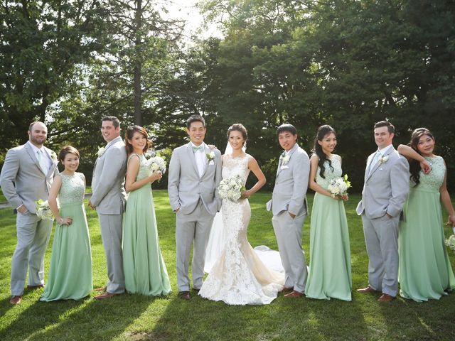 Brent and Queenie's wedding in Vancouver, British Columbia 1