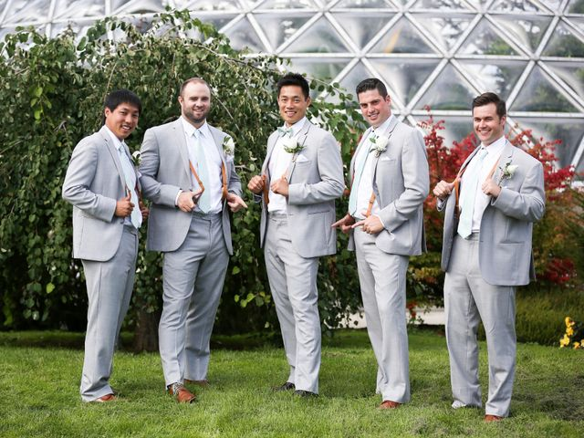 Brent and Queenie's wedding in Vancouver, British Columbia 46