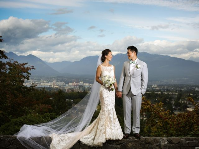 Brent and Queenie's wedding in Vancouver, British Columbia 53