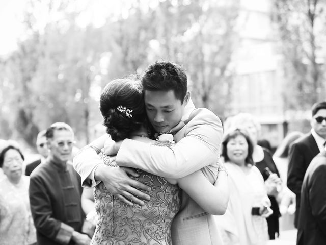 Brent and Queenie's wedding in Vancouver, British Columbia 58