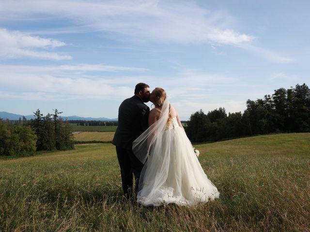 William and Jordan's wedding in Langley, British Columbia 10