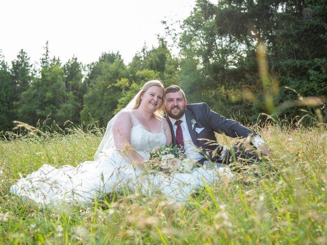 William and Jordan's wedding in Langley, British Columbia 12