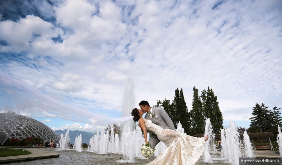 Brent and Queenie's wedding in Vancouver, British Columbia