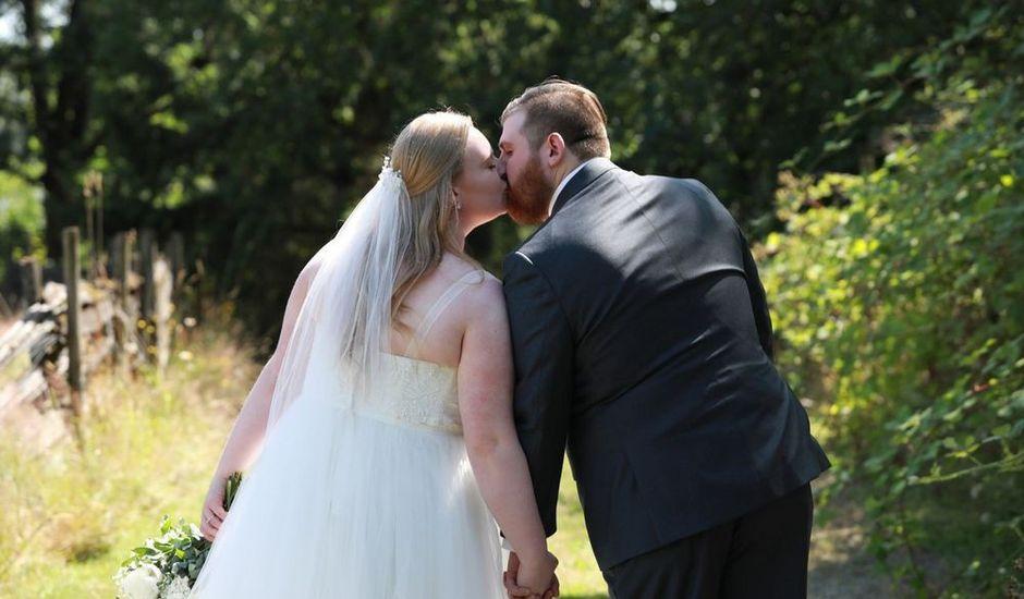 William and Jordan's wedding in Langley, British Columbia
