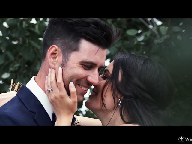 Kiefer and Nicole's wedding in Kamloops, British Columbia 1