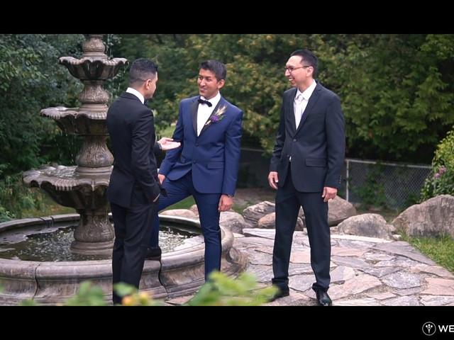 Reza and Nancy's wedding in Bolsover, Ontario 1