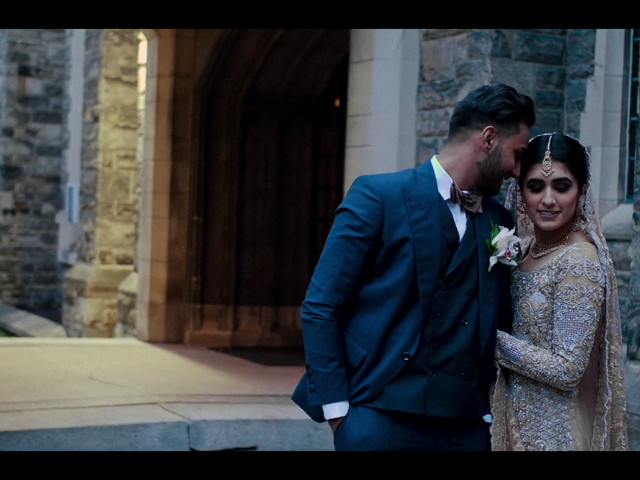 Rumsha and Shahbaz's wedding in Mississauga, Ontario 1