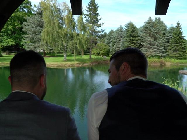 Ryan and Alyssa's wedding in Innisfil, Ontario 1
