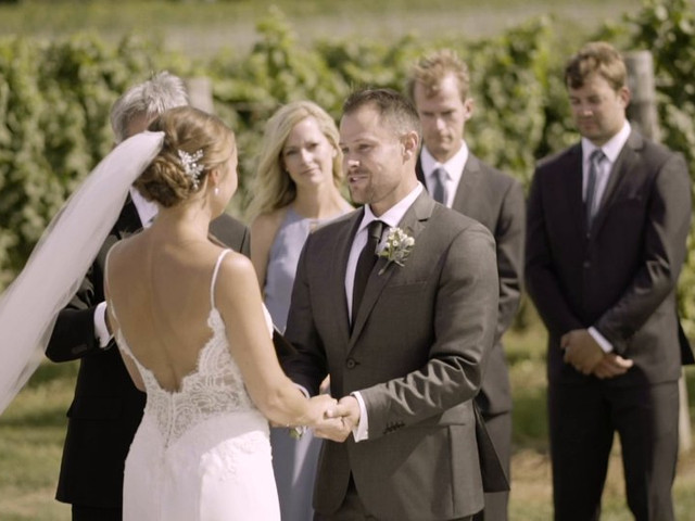 Kyle and Steff's wedding in Beamsville, Ontario 1