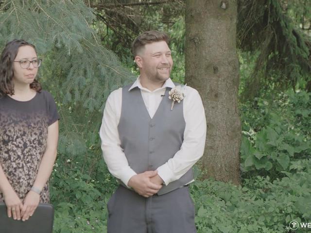 Liz and Brandon's wedding in Guelph, Ontario 1