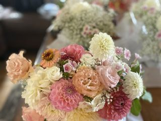 Floral & Brick 1