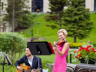 Megan Wedding Violinist 1