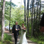The wedding of Nicole Mountain and TreeTop Haven 15