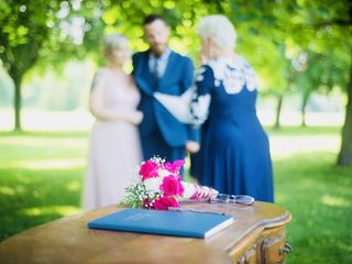 Rev. Mary McCandless ~ Four Seasons Celebrations, Wedding Officiant 3