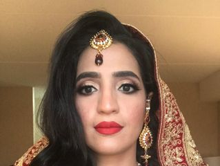 Sana's Makeup and Hair 1