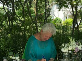 Rev. Mary McCandless ~ Four Seasons Celebrations, Wedding Officiant 2
